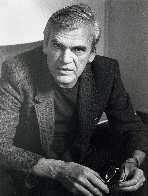 Kundera with glasses