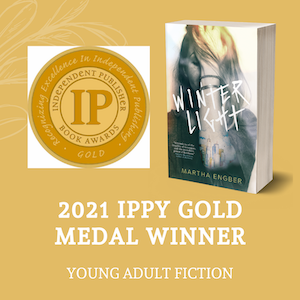 Winter Light by Mary Engber, Winner of the 2021 IPPY Gold Award for Young Adult Fcition